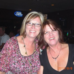 Crystal and I at our 30th class reunion, 2010